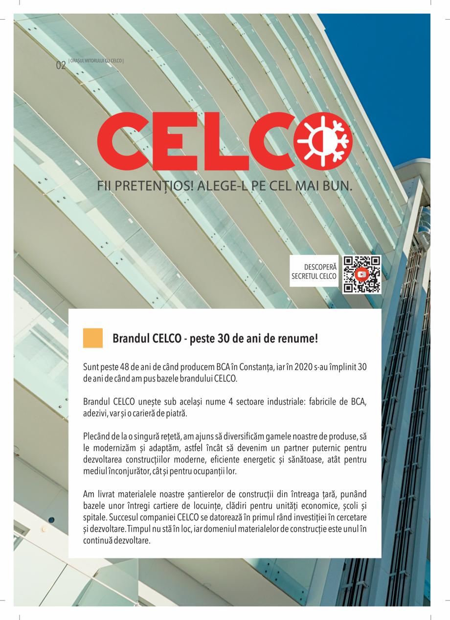 Pagina 2 - BCA - beton celular autoclavizat CELCO MEGATERM, MEGATERM PLUS, STANDARD, STRUCTOTERM,...