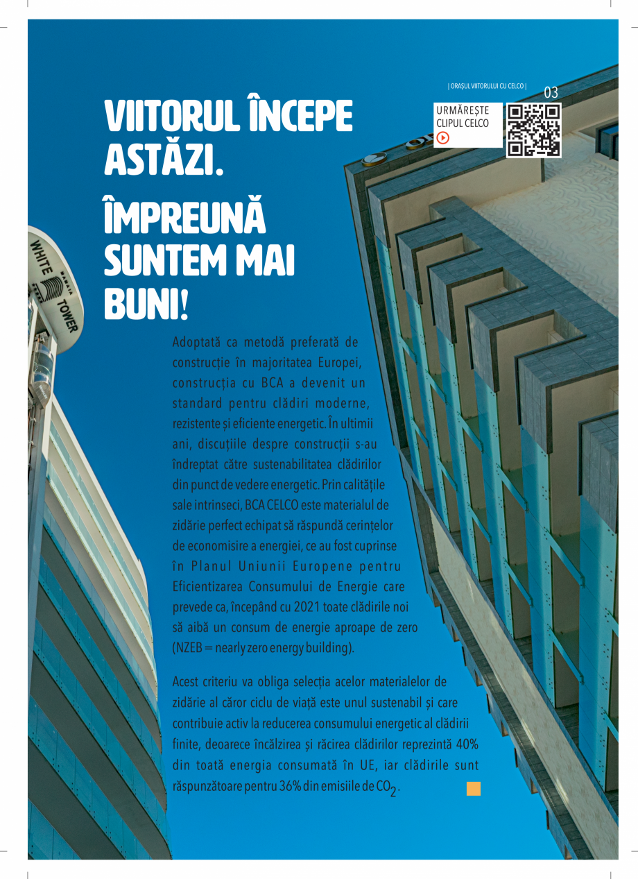 Pagina 3 - BCA - beton celular autoclavizat CELCO MEGATERM, MEGATERM PLUS, STANDARD, STRUCTOTERM,...