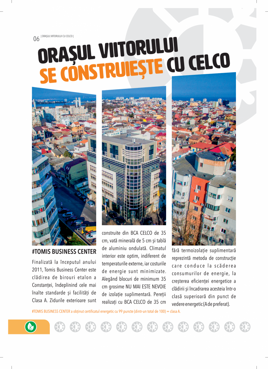 Pagina 6 - BCA - beton celular autoclavizat CELCO MEGATERM, MEGATERM PLUS, STANDARD, STRUCTOTERM,...