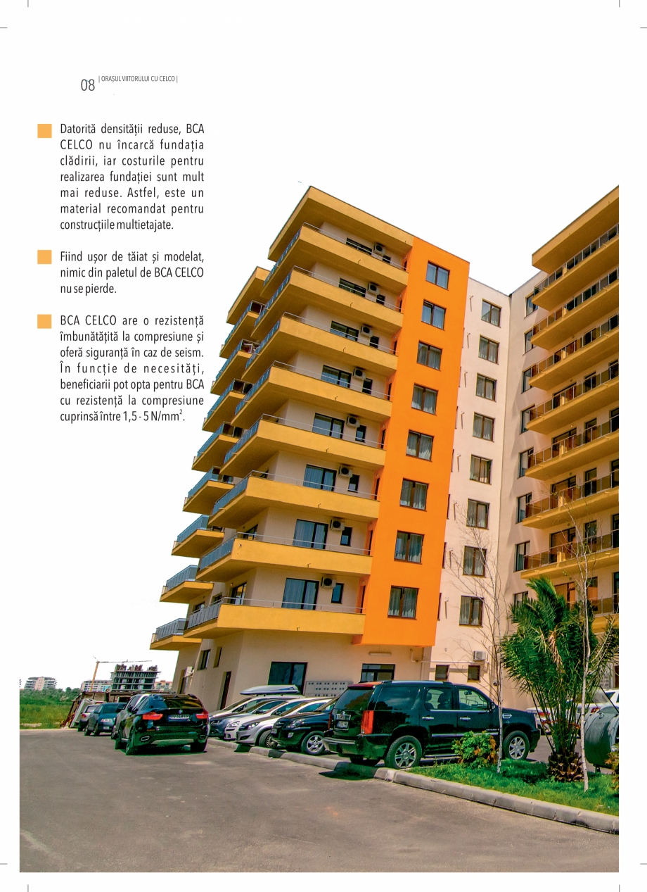 Pagina 8 - BCA - beton celular autoclavizat CELCO MEGATERM, MEGATERM PLUS, STANDARD, STRUCTOTERM,...