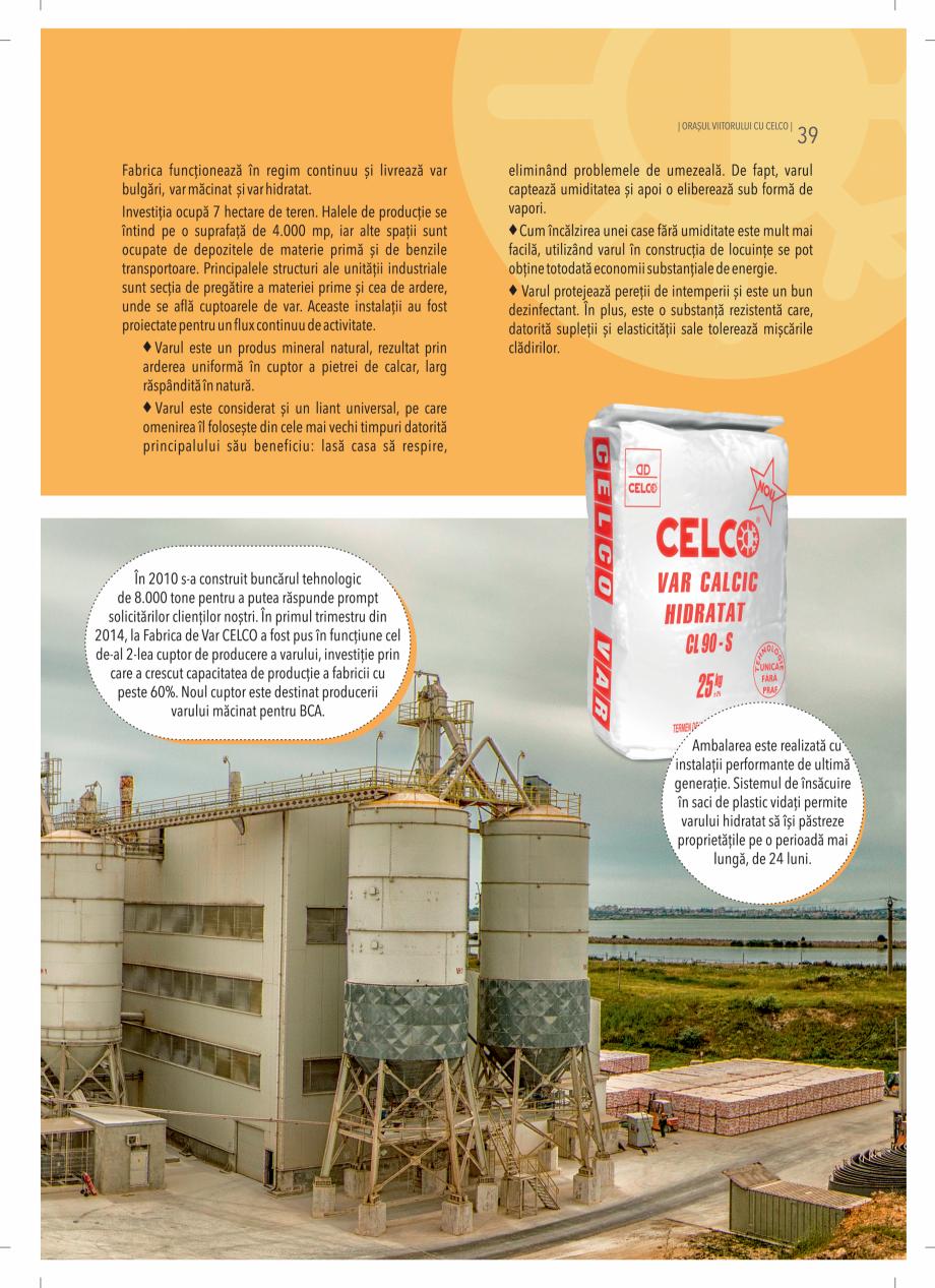 Pagina 39 - BCA - beton celular autoclavizat CELCO MEGATERM, MEGATERM PLUS, STANDARD, STRUCTOTERM,...