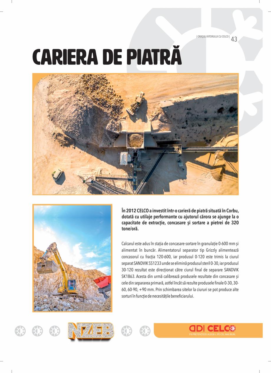 Pagina 43 - BCA - beton celular autoclavizat CELCO MEGATERM, MEGATERM PLUS, STANDARD, STRUCTOTERM,...