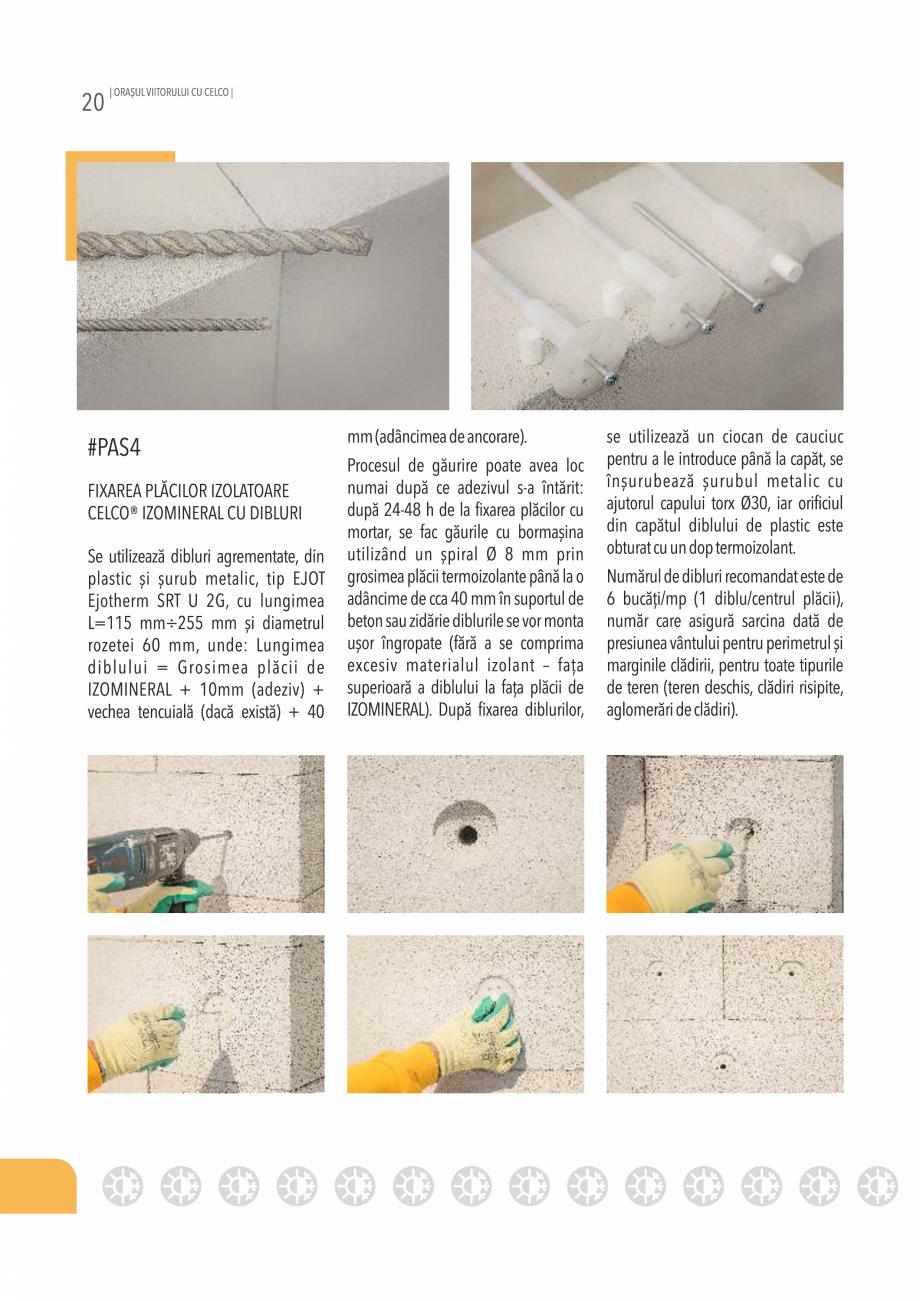 Pagina 20 - Pliant CELCO 2019 CELCO PLAC interior DD-C1, PLAC interior-exterior DD-C12 Catalog,...