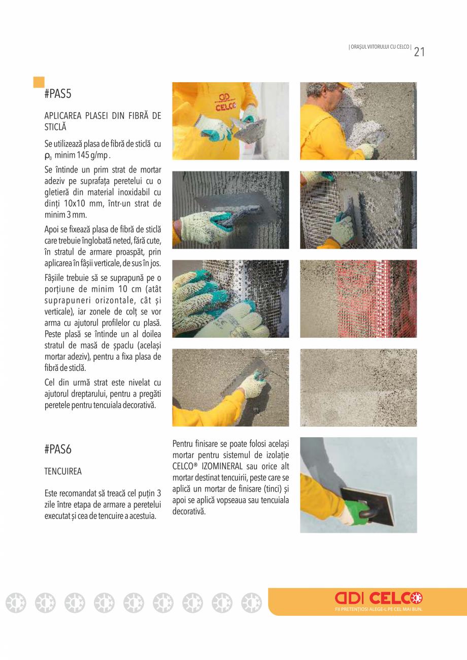 Pagina 21 - Pliant CELCO 2019 CELCO PLAC interior DD-C1, PLAC interior-exterior DD-C12 Catalog,...
