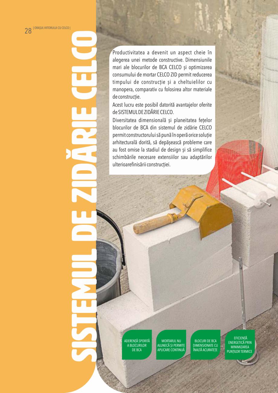 Pagina 28 - Pliant CELCO 2019 CELCO PLAC interior DD-C1, PLAC interior-exterior DD-C12 Catalog,...