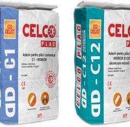 Adezivi pentru placari interioare si exterioare CELCO
