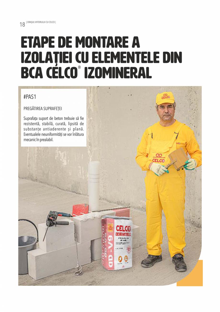 Pagina 18 - Pliant CELCO 2019 CELCO TERM DD-T3, VATOTHERM DD-V9 Catalog, brosura Romana