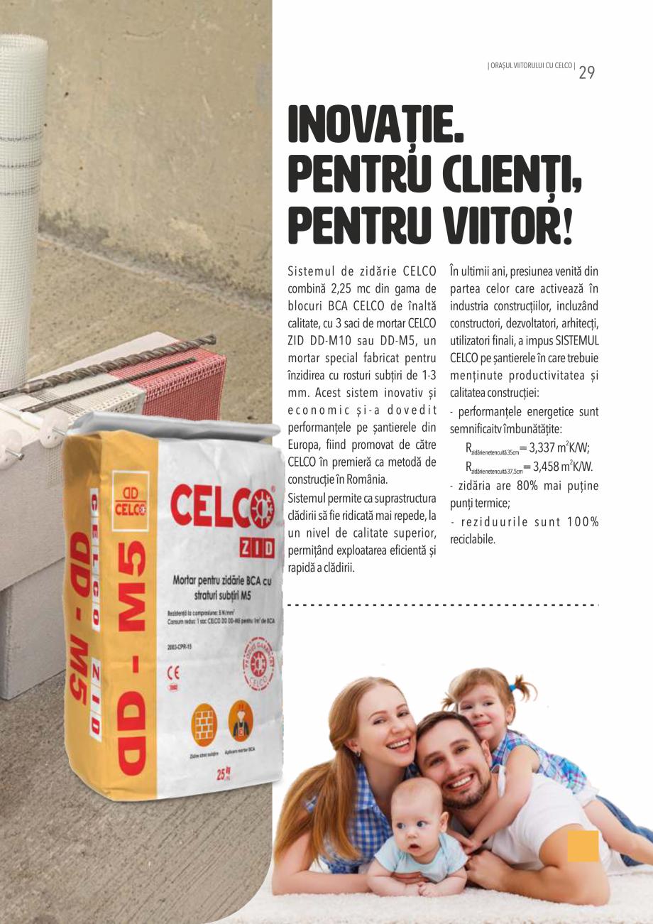Pagina 29 - Pliant CELCO 2019 CELCO TERM DD-T3, VATOTHERM DD-V9 Catalog, brosura Romana