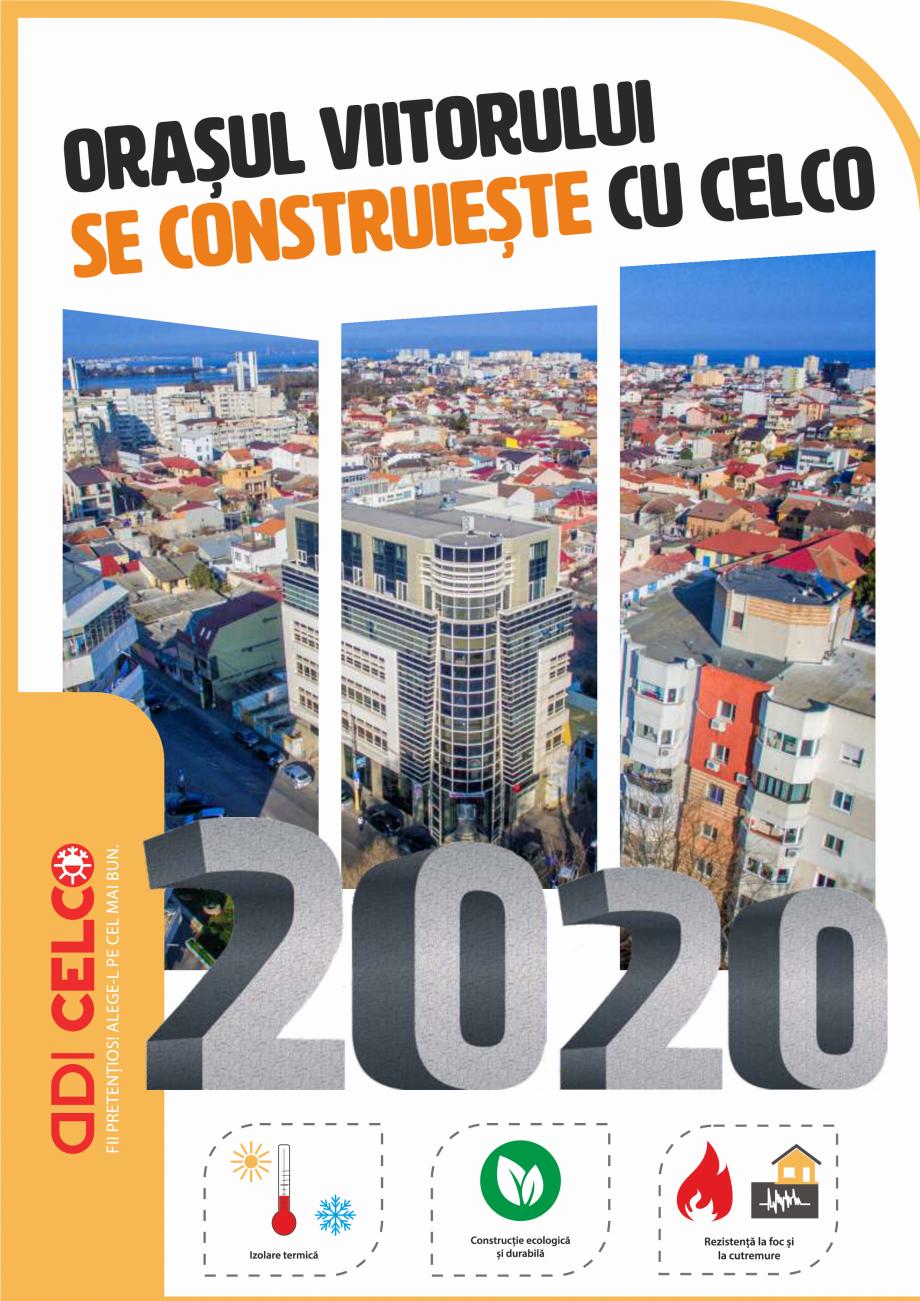Pagina 1 - Pliant CELCO 2019 CELCO Catalog, brosura Romana Datorită densității reduse BCA...
