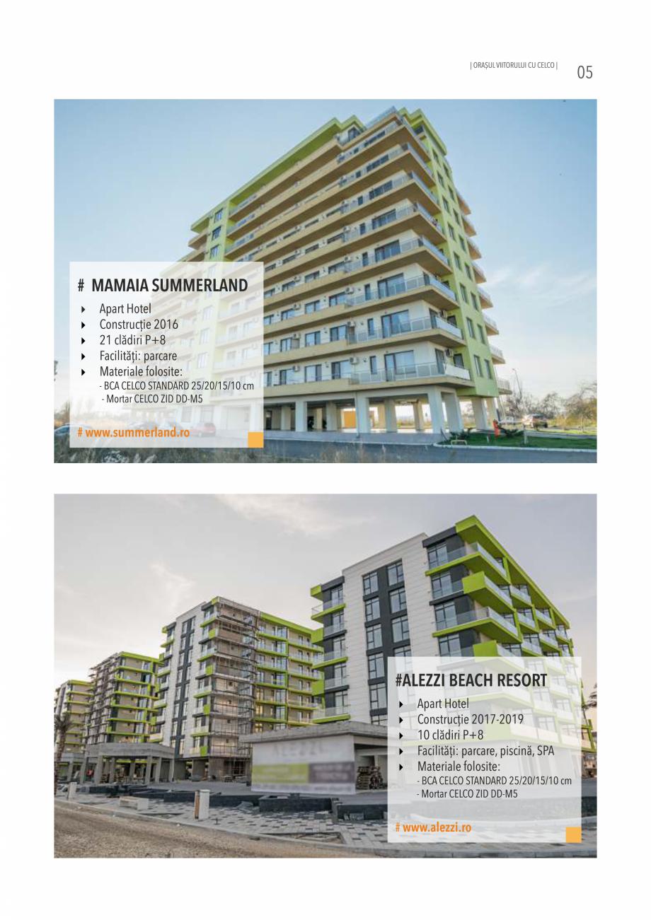 Pagina 5 - Pliant CELCO 2019 CELCO Catalog, brosura Romana