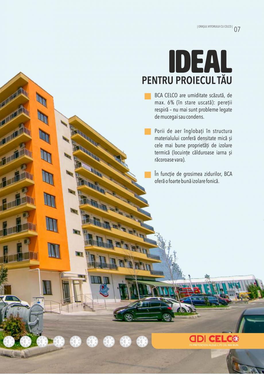 Pagina 7 - Pliant CELCO 2019 CELCO Catalog, brosura Romana