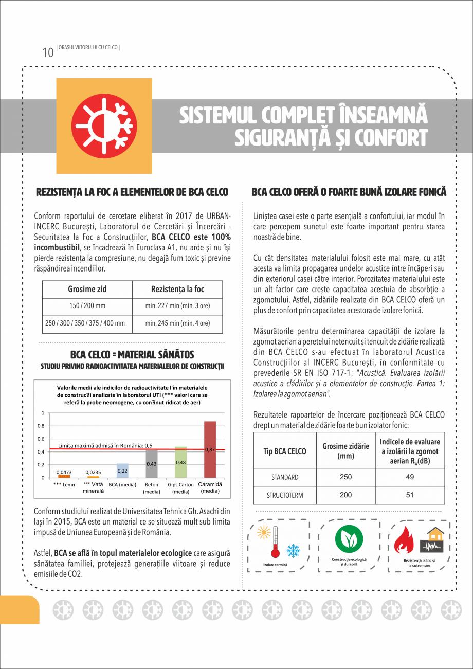 Pagina 10 - Pliant CELCO 2019 CELCO Catalog, brosura Romana