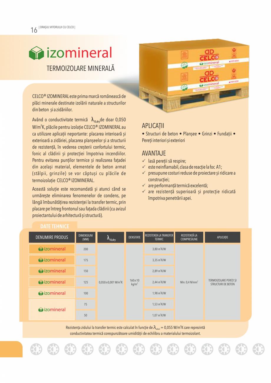 Pagina 16 - Pliant CELCO 2019 CELCO Catalog, brosura Romana