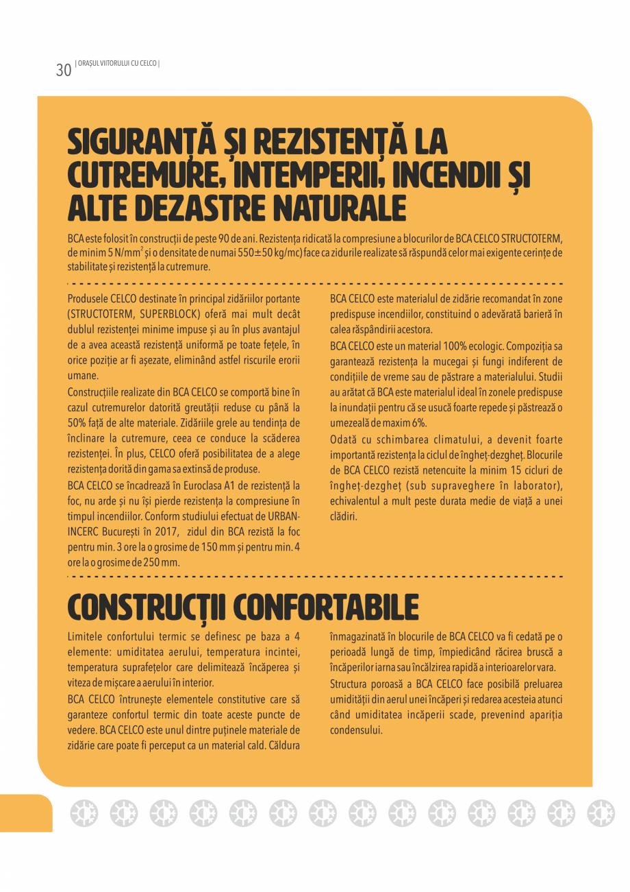 Pagina 30 - Pliant CELCO 2019 CELCO Catalog, brosura Romana