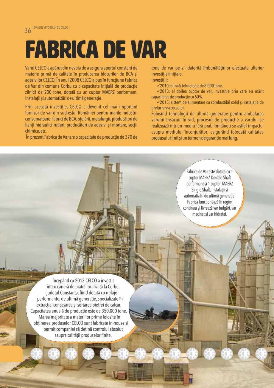 Pagina 36 - Pliant CELCO 2019 CELCO Catalog, brosura Romana