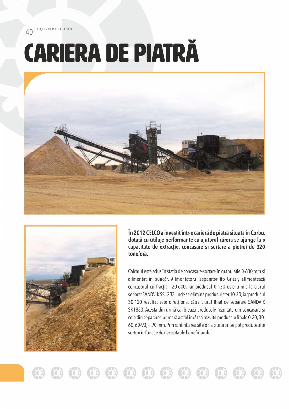 Pagina 40 - Pliant CELCO 2019 CELCO Catalog, brosura Romana