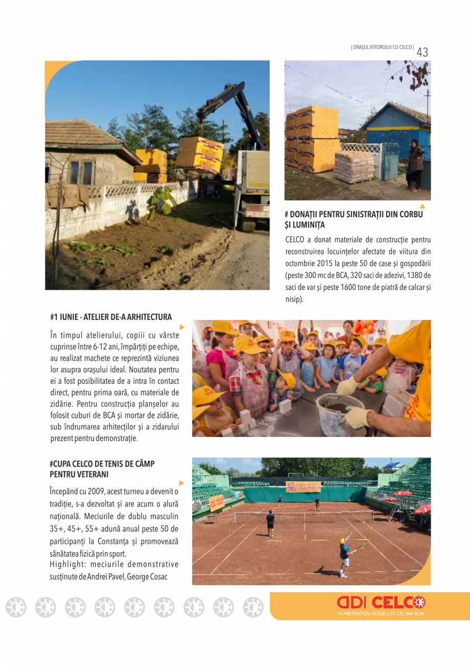 Pagina 43 - Pliant CELCO 2019 CELCO Catalog, brosura Romana