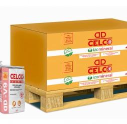 Set termoizolant IZOMINERAL pentru izolarea termica a structurilor din beton si a zidariilor Placile pentru izolatie CELCOL au ca utilizare aplicatii neportante: placarea interioara si exterioara a zidariei, placarea planseelor si a structurii de rezistenta.