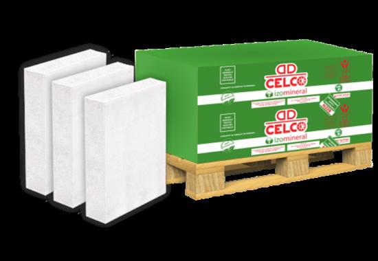 Termoizolatie minerala naturala pentru izolarea termica a structurilor din beton si a zidariilor CELCO