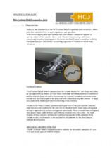 Fisa tehnica - Profilele pentru rosturi HCJ