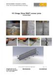 Profile pentru rosturi utilizate la pardoselile din beton HCJ - HC-Omega Sinus Slide
