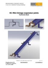 Profile de dilatatie pentru pardoseli din beton HCJ