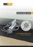 Profile de dilatatie pentru pardoseli industriale HCJ - Cosinus Slide