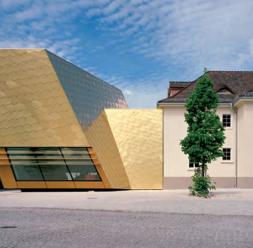 Soluții arhitecturale pentru fațade și acoperișuri din tablă cupru TECU