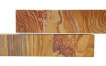 Piatra naturala decorativa Rainbow Sandstone Piatra Naturala SandStone Rainbow 7x30x1 cm, Piatra Naturala SandStone Rainbow Bizotat 7cm x Lungimi Libere