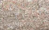 Piatra naturala decorativa Granit Peach Red Scapitat, Star Grey Scapitat
