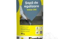 Sape autonivelante de egalizare Sapa de egalizare - Weber D10 - 30 KG, Sapa autonivelanta cu fibre de armare - Weber.Plan Profi - 25 KG