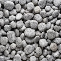 Piatra naturala ornamentala pentru exterior Pietre cu marginile rotunjite, pigmentate negru-gri! Omogenitatea cromatica a pebble-ului din granit Rock Star Grey Discus se incadreaza perfect in orice fel de ambient, indiferent de stilul in care e amenajata gradina sau curte.