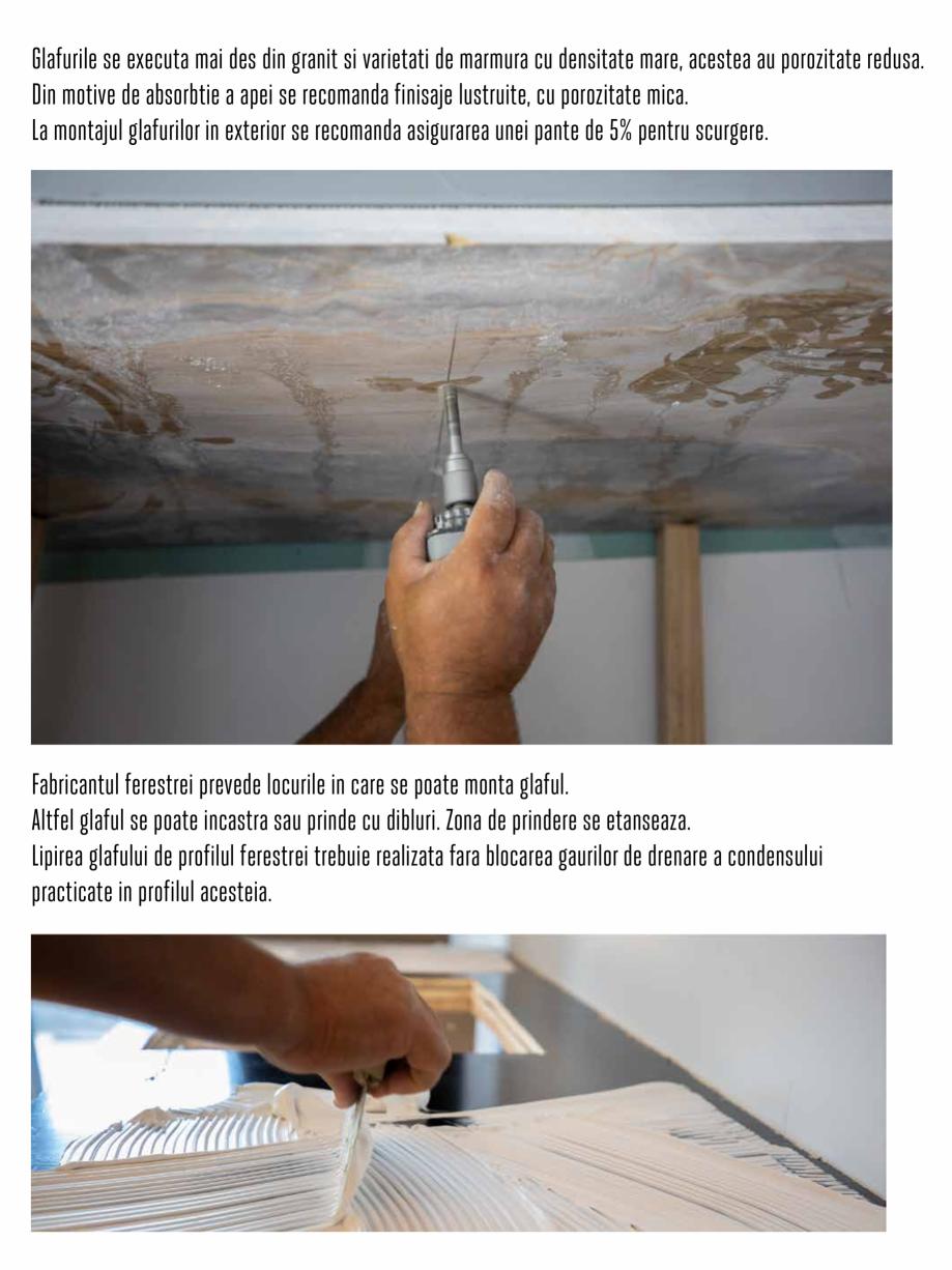 Pagina 8 - Instructiuni de montaj piese speciale PIATRAONLINE Instructiuni montaj, utilizare Romana
