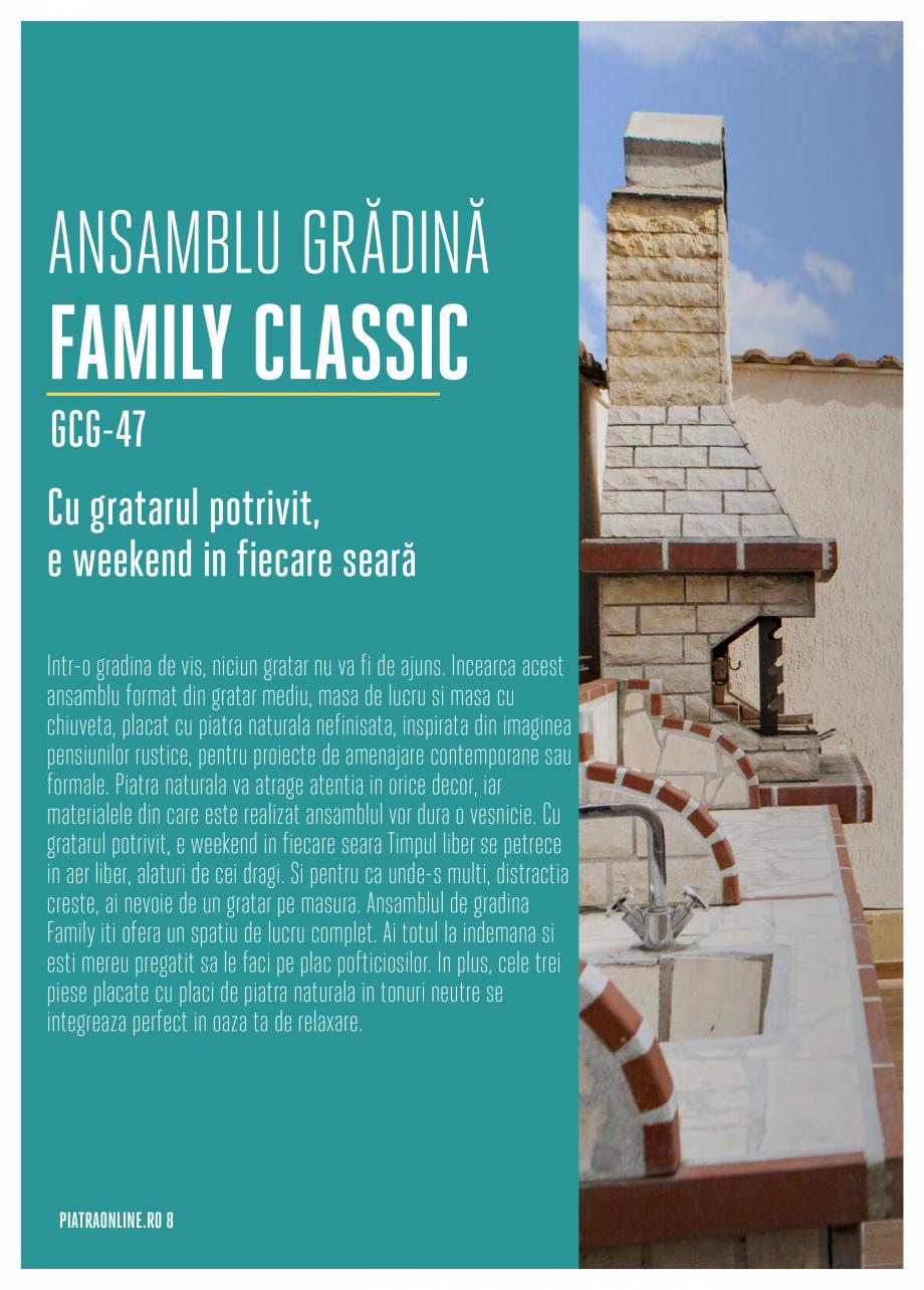 Pagina 8 - Gratare si cuptoare de gradina PIATRAONLINE Catalog, brosura Romana e Înălţime...