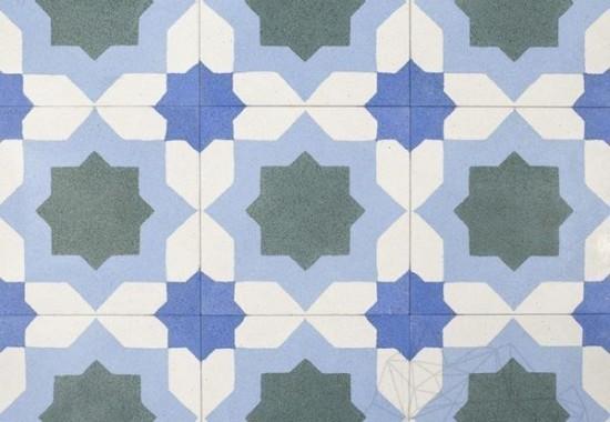 Placi decorative din ciment Terrazzo Oriental PIATRAONLINE