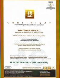 Certificat ISO-14001