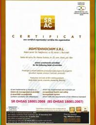 Certificat ISO-18001