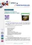 Tencuiala marmorata de soclu EMEX -