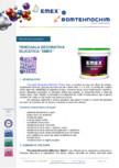 Tencuiala decorativa structurata silicatica EMEX -