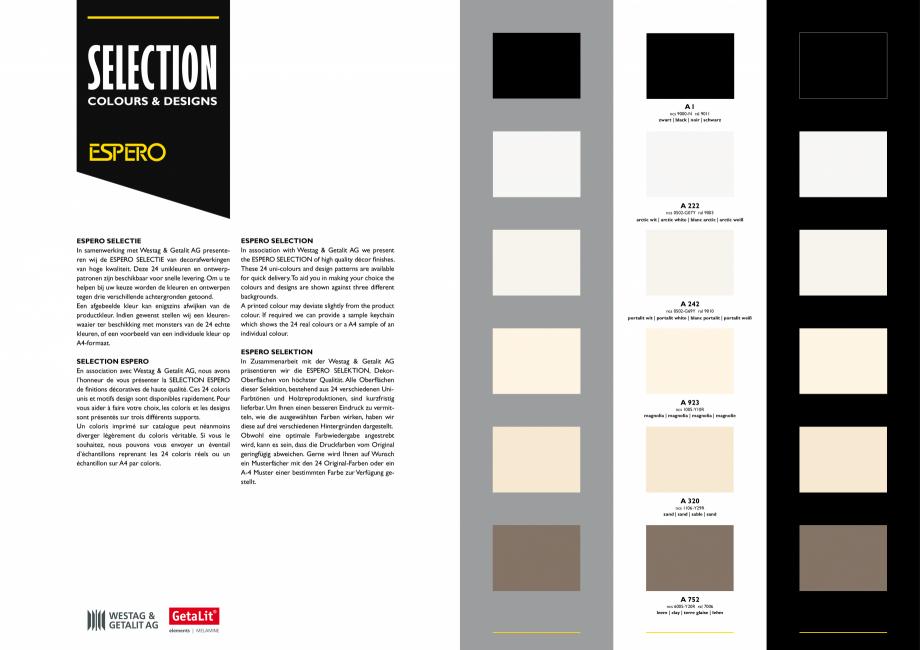 Pagina 2 - Paletar pentru pereti mobili, demontabili  ESPERO Sonico, Flexio, Uno & Duplo, Visio,...