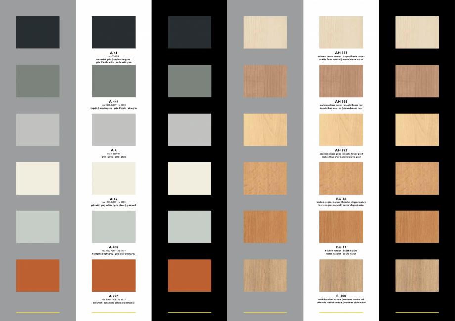 Pagina 3 - Paletar pentru pereti mobili, demontabili  ESPERO Sonico, Flexio, Uno & Duplo, Visio,...