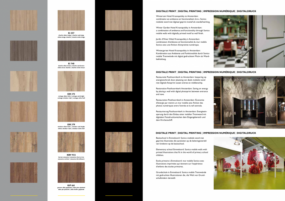 Pagina 4 - Paletar pentru pereti mobili, demontabili  ESPERO Sonico, Flexio, Uno & Duplo, Visio,...