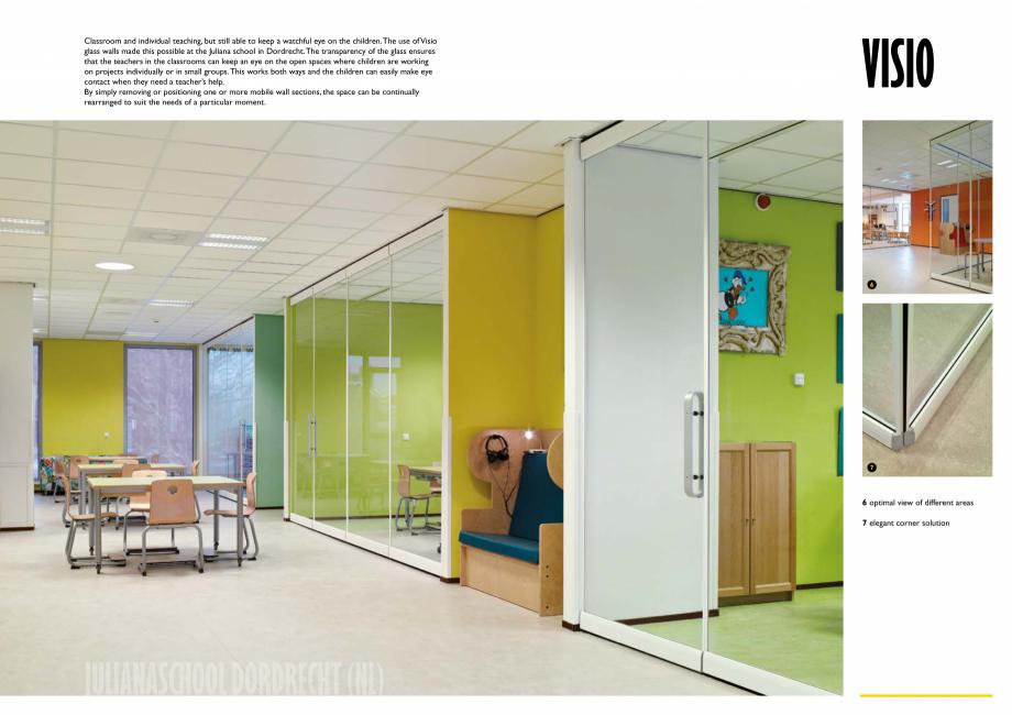Pagina 6 - Pereti mobili, demontabili  ESPERO Visio Catalog, brosura Engleza l  double door panel  8...