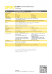 Caracteristici tehnice - Pereti mobili, demontabili ESPERO - Flexio
