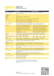 Caracteristici tehnice - Pereti mobili, demontabili ESPERO - Visio 100