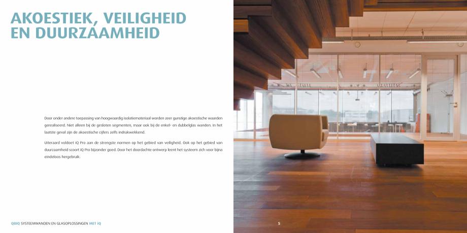 Pagina 3 - Pereti modulari pentru birouri QBIQ iQPro Catalog, brosura Olandeza nddikte kunnen...