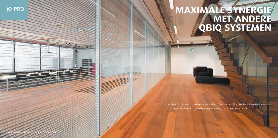 Pagina 4 - Pereti modulari pentru birouri QBIQ iQPro Catalog, brosura Olandeza 12,76 mm  F  # A  B  ...