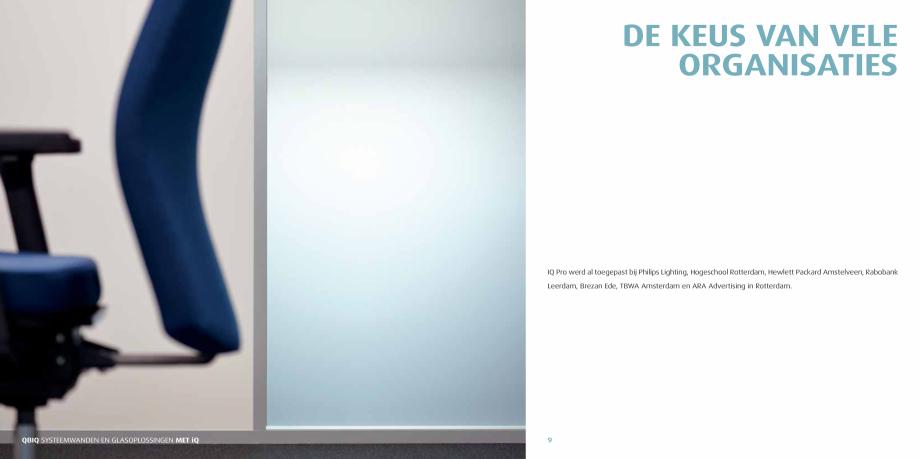 Pagina 5 - Pereti modulari pentru birouri QBIQ iQPro Catalog, brosura Olandeza