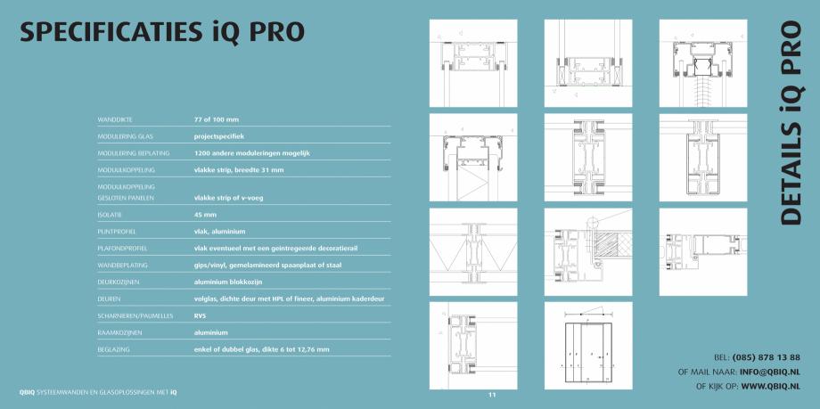 Pagina 6 - Pereti modulari pentru birouri QBIQ iQPro Catalog, brosura Olandeza