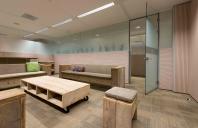 Pereti modulari din sticla sau lemn pentru compartimentare birouri  QBIQ